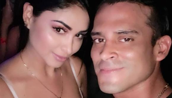 Pamela Franco y Christian Domínguez (Foto: Instagram)