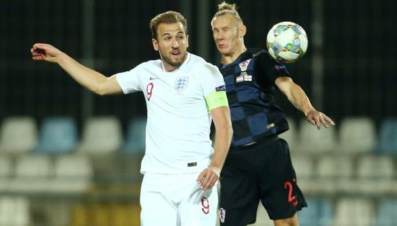 Inglaterra vs. Croacia chocan en Rijeka por la Liga de Naciones. (Foto: Reuters)