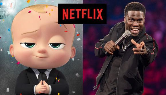 La nueva temporada de las aventuras del jefe en pañales y el retorno de Kevin Hart al stand-up están entre los estrenos del martes 17 de noviembre en Netflix (Foto: Netflix)