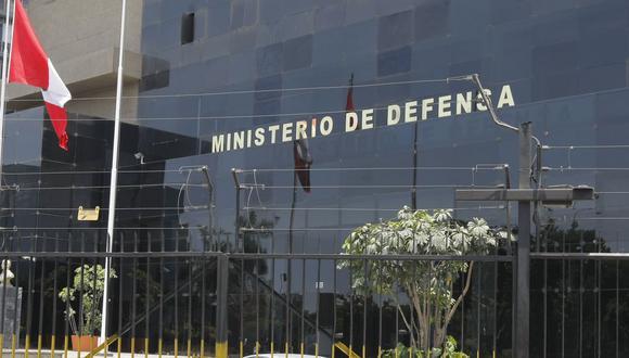 El Ministerio de Defensa informó que el comunicado que circula en redes sociales es falso. (Foto: GEC)