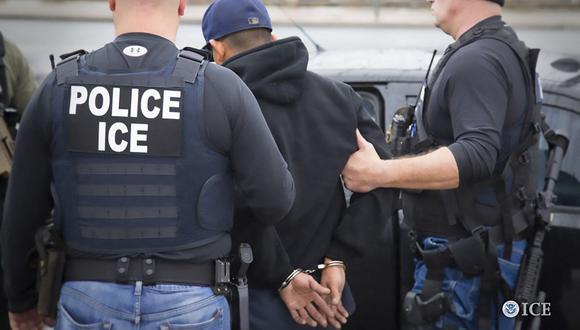 Inmigrante colombiano que recién había ingresado a Estados Unidos muere bajo custodia del ICE. (Foto referencial, Charles Reed / ICE / AFP).