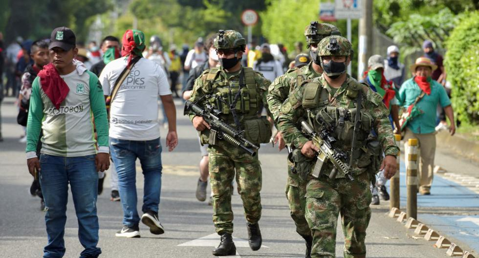 Colombia continues with the search for 168 people reported missing in protests