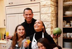 Jennifer Lopez publica nuevas fotografías familiares del Día de Acción de Gracias
