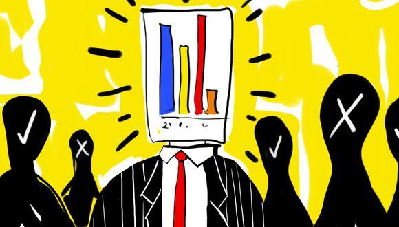 """""""De acuerdo con el padrón validado por el JNE al 2021, en el Perú radican 24 millones 290 mil 921 electores hábiles"""". (Ilustración: Giovanni Tazza)"""