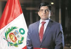 Control interno de fiscalía investiga a titular del Interior, Juan Carrasco Millones