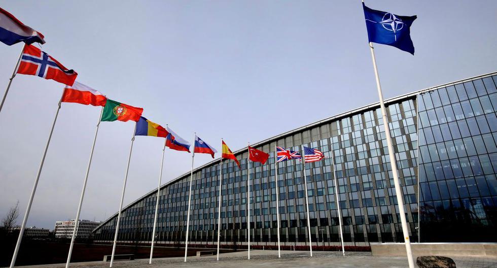 La OTAN ya había registrado un primer caso positivo entre el personal de su cuartel general militar, situado en Mons, en el sur de Bélgica. (AP)