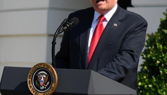 El presidente de los Estados Unidos se mostró optimista sobre los primeros encuentros para discutir sobre el TLCAN. (Foto: Reuters)