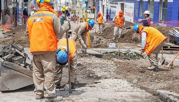Los trabajadores deberán cumplir sus actividades este jueves 8 de octubre. (GEC)