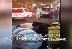 Rímac: sujeto acusado de intentar robar celular agrede a policías y luego reza para evitar detención | VIDEO