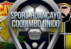 Sport Huancayo vs. Coquimbo Unido EN VIVO: ¿cómo, a qué hora y dónde ver ONLINE el partido por Copa Sudamericana?