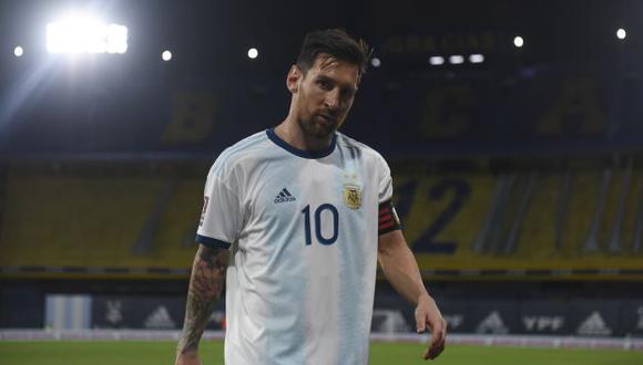 Lionel Messi llegó a los 22 goles con la selección de Argentina. (Foto: AFP)