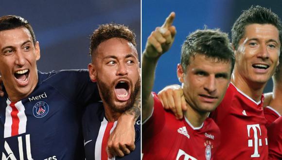 Bayern vs. PSG: conoce los jugadores más caros de los equipos que disputarán la final de la Champions League. (Foto: AFP)