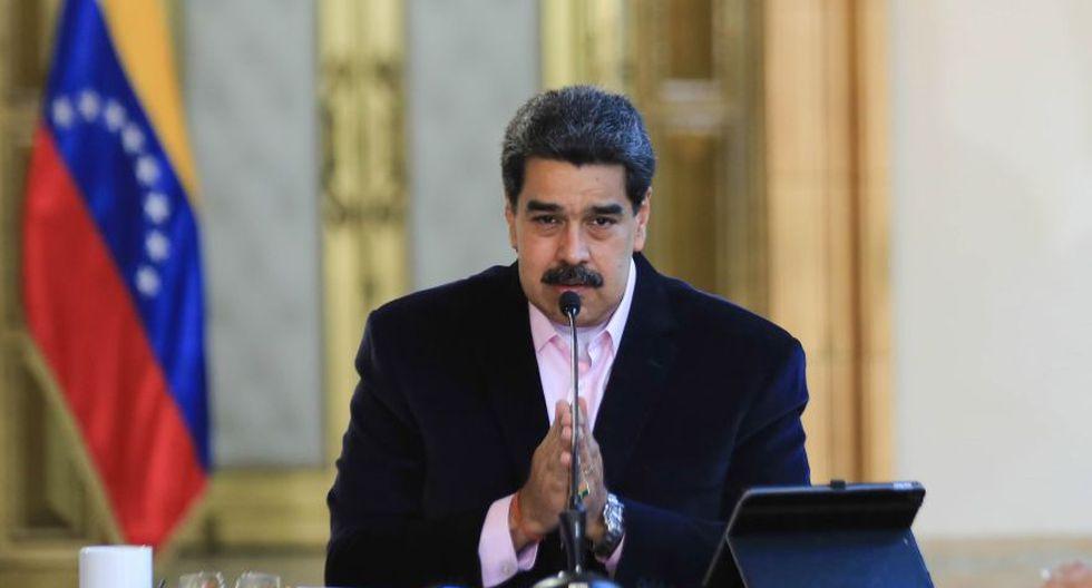 """El gobierno de Nicolás Maduro, en un comunicado leído por el canciller, Jorge Arreaza, acusó más temprano a la Casa Blanca de intentar una """"nueva modalidad de golpe de Estado"""". (Foto: EFE)."""