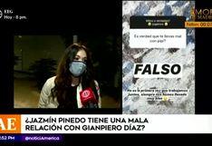 Jazmín Pinedo descarta supuesta enemistad con Gian Piero Díaz en la conducción de 'EEG'