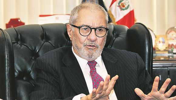 Javier Villa Stein había presentado una demanda de amparo para anular la segunda vuelta. (Foto: Archivo El Comercio)