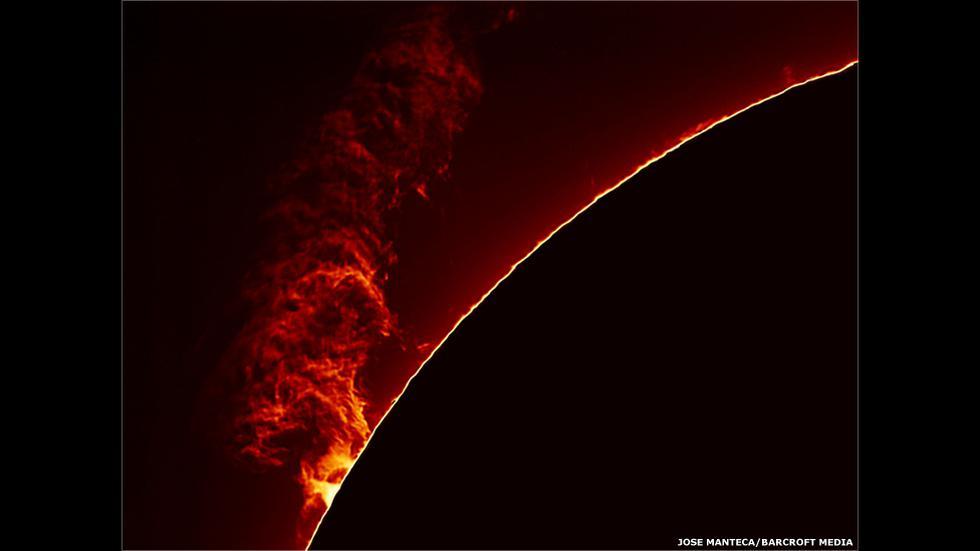 Espectaculares imágenes de erupciones y manchas solares - 2