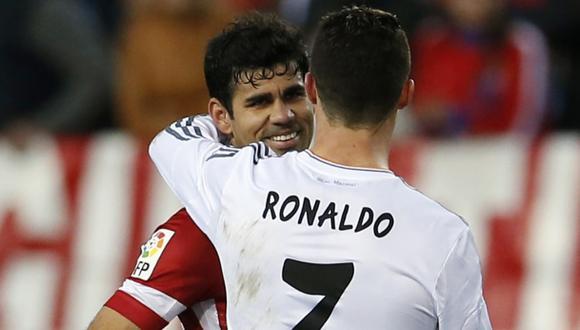 Diego Costa y Cristiano Ronaldo, las figuras de ambos equipos se van a reencontrar en el Estadio da Luz de Lisboa. (Foto: Reuters)