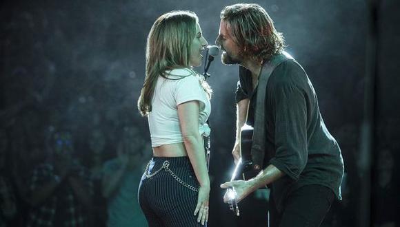 """Lady Gaga y Bradley Cooper protagonizan la película """"A Star Is Born"""", que ha sido todo un éxito, principalmente por la canción """"Shallow"""" (Foto: Warner Bros. Pictures)"""