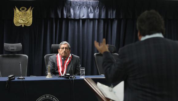 Julio Gutiérrez, del CNM, tiene un impedimento de salida del país por las investigaciones generadas por los audios. (Foto: Archivo El Comercio)