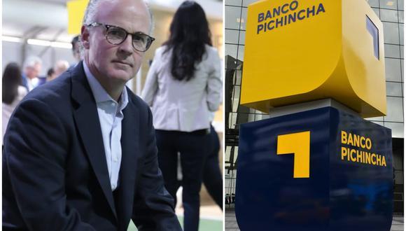 Alex Spangenberg, gerente general adjunto de negocios Banco Pichincha (Foto: Hugo Pérez / El Comercio)