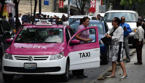 Los casos de violaciones a manos de taxistas se han incremanto en México. (Foto: Referencial   AFP)