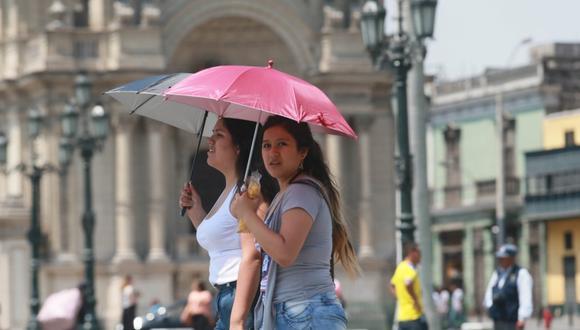 El Senamhi advirtió que el índice máximo de radiación UV en Lima alcanzará el nivel 15 este miércoles. (Foto: GEC)