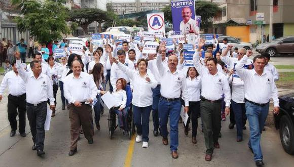 General Arteta inscribió su candidatura a la alcaldía de Lima