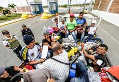 Migración venezolana: más de 5.400 ingresos al día antes del pedido de visa