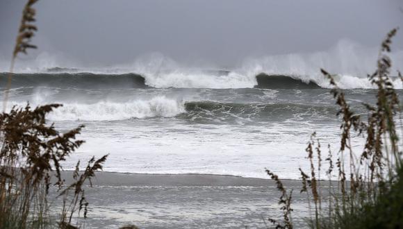 YouTube | Huracán Florence: advierten formación de olas de 25 metros en mar abierto. (Foto: AFP).