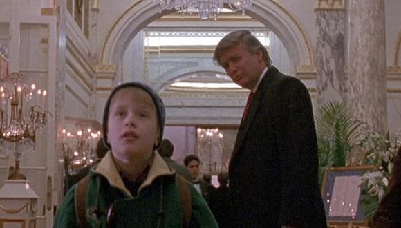 """Donald Trump aparece muy brevemente en """"Mi pobre angelito 2"""", lanzada en 1992. (Foto: Twentieth Century Fox)"""