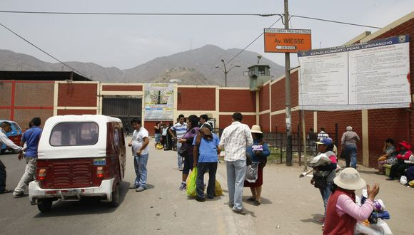 En el penal de Lurigancho se aplica la restricción a las visitas. (GEC)