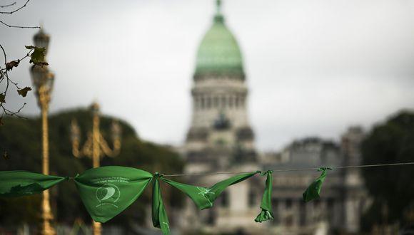 Aborto en Argentina: Discusión se traslada al Senado, donde hay más resistencias. (EFE).