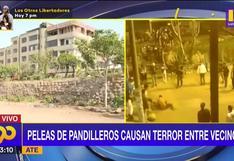 Peleas de pandilleros atemorizan a los vecinos de Ate