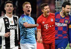 Ver, Champions League, octavos de final: Juventus, City, Bayern y Barcelona son los favoritos de las casas de apuestas