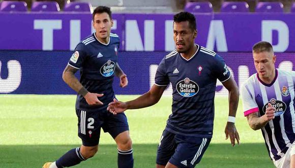 Renato Tapia valoró sus primeros meses en Celta de Vigo. (Foto: EFE)