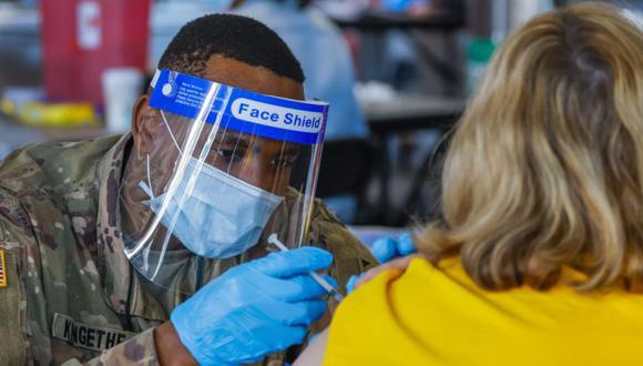 Coronavirus en Estados Unidos   Últimas noticias   Último minuto: reporte de infectados y muertos hoy, lunes 29 de marzo del 2021   Covid-19. (Foto: EFE/EPA/ERIK S. LESSER).