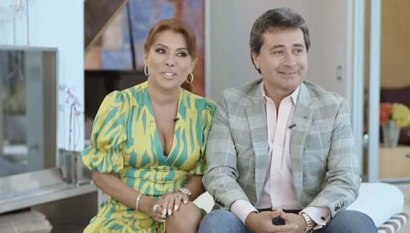 Magaly Medina y Alfredo Zambrano cuentan en divertido video cómo se enamoraron. (Foto: captura de video)