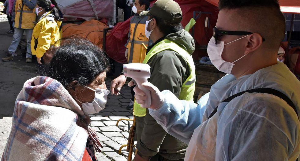 Bolivia suma 300 infectados por coronavirus. (Fuente: AFP)