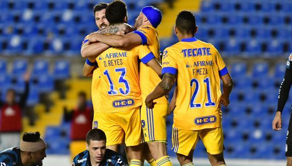 Diego Reyes marcó el gol de la victoria para Tigres | Foto: Twitter