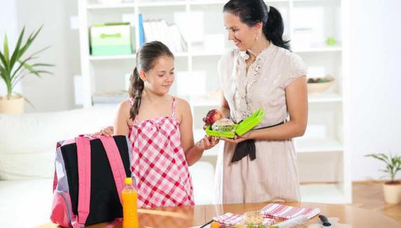 Las loncheras escolares pueden aportar nutrientes para el rendimiento escolar del niño. (Foto: archivo)