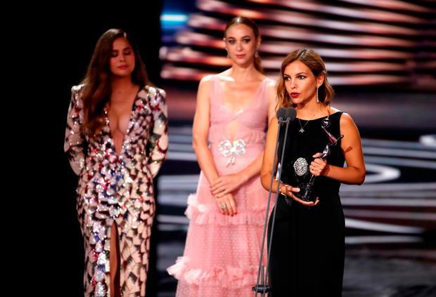 """La gallina turuleca"" de Filmax ganó los Premios Platino 2021. (Foto: EFE)"