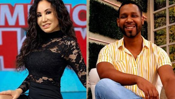 """Janet Barboza calificó de """"sonso"""" a 'Giselo' en """"América Hoy"""" y presentador no se quedó callado. (Foto: @janetbarbozaa /@edsondavila30)."""