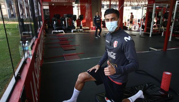 Jean Pierre Rhyner fue convocado por primera vez a la selección peruana adulta por Ricardo Gareca. (Foto: FPF)