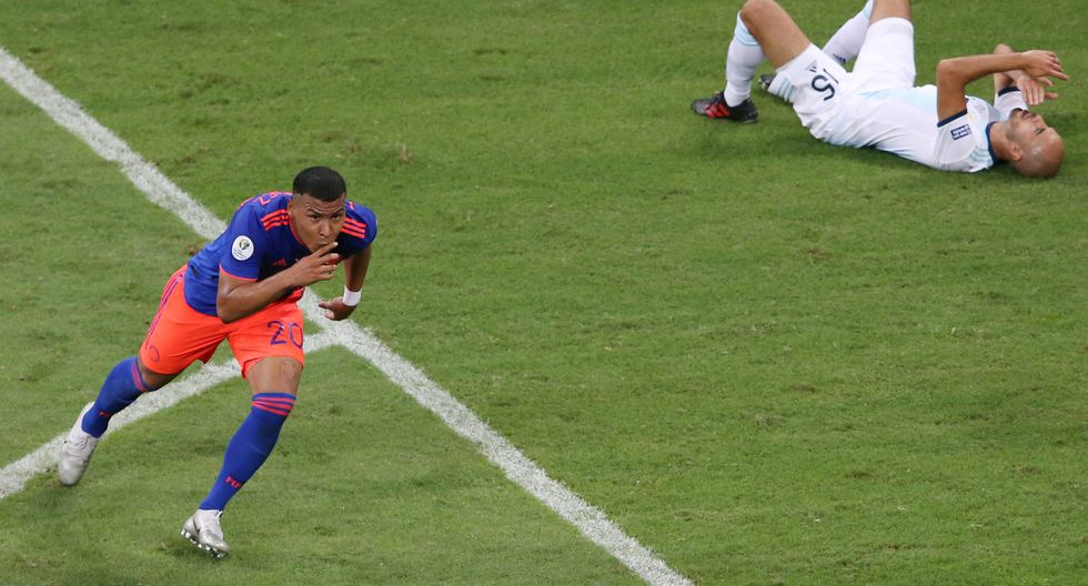 Argentina vs. Colombia: Observa las mejores postales del partido por la Copa América.   Foto: Agencias