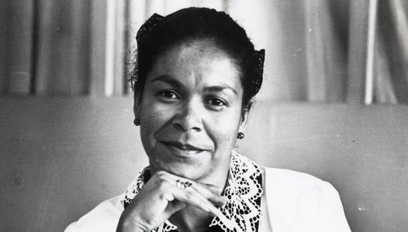 Eva Ayllón sonríe. FOTO: GEC Archivo Histórico.
