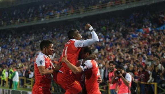 Independiente Santa Fe se impuso por 3 tantos a 1 a su similar de Millonarios. | Independiente Santa FE