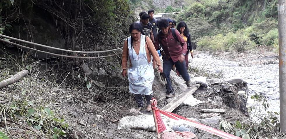 La temporada de lluvias e inundaciones han ocasionado estragos en las provincias puneñas de Sandia, Melgar y Carabaya (Foto: COER Puno)