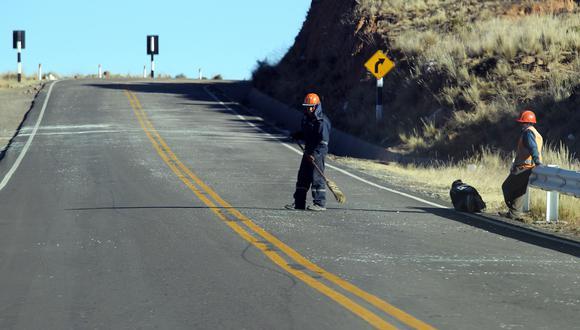 Carretera Arequipa-Juliaca (PE34A) que suma un total de 671 accidentes de tránsito. (Foto: archivo)