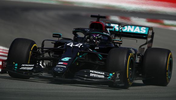 Lewis Hamilton se impuso en el GP de Bélgica en la que es su victoria número 89 en su carrera. Quedó a dos del récord de Michael Schumacher. (Foto: AFP)