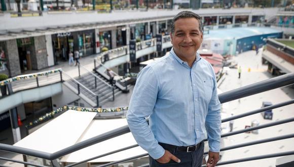 """""""Las proyecciones que teníamos en noviembre para este año se caen con las restricciones"""", precisa Luis Salviati, CEO de Larcomar. Foto: César Campos/El Comercio"""